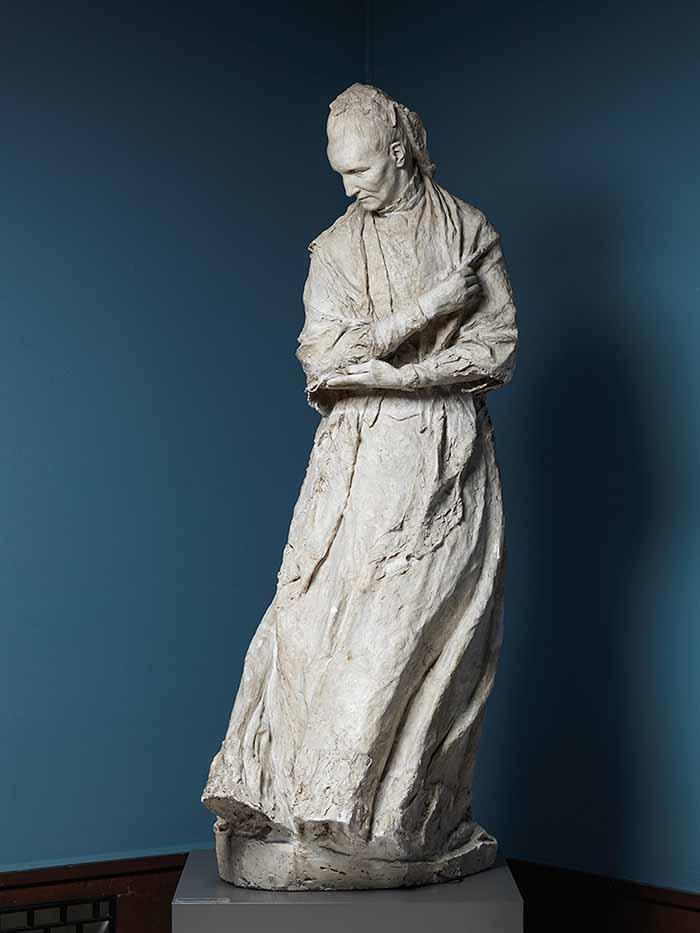 Obra de Camilla Collet (1906), no Vigelandmuseet, Oslo, Noruega