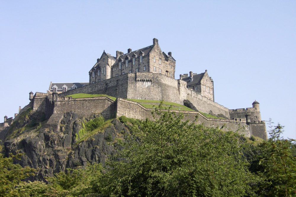 a grande vedete da cidade: o castelo de Edimburgo