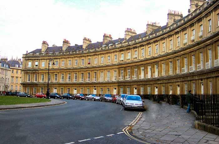 Bath Circus em Bath, Inglaterra