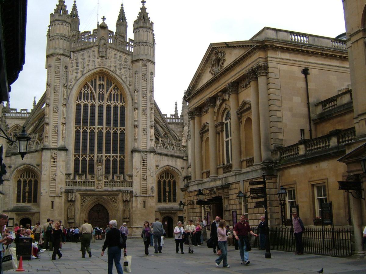 Abbey Church, em Bath, Inglaterra