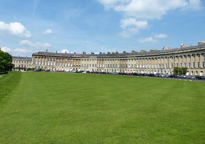 Bath, a cidade reconhecida pelas suas áreas verdes
