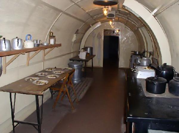 Cozinha do hospital do Dover Castle
