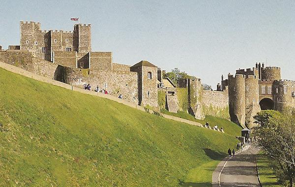 Dover Castle guardião do Reino Unido