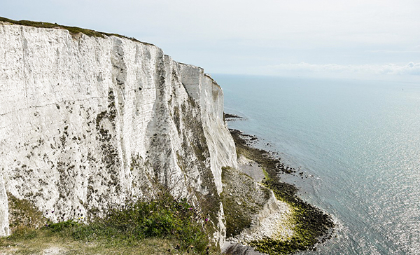 Falésias: marca registrada dessa região da Inglaterra