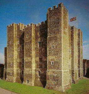 a torre central do Dover Castle