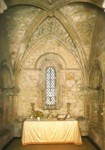 uma das capelas do Dover Castle