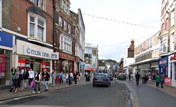 Uma rua em Dover - UK