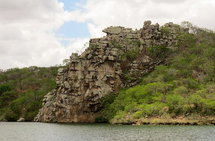 A Pedra do Gavião em Xingó