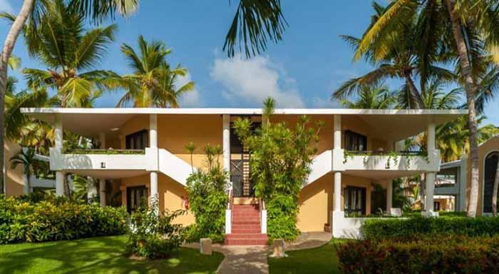 Bangalô do Bavaro Princess Hotel, em Punta Cana