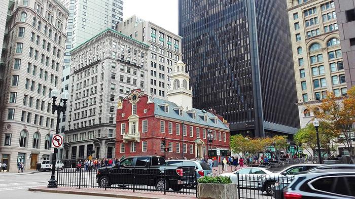 Boston, cidade movimentada