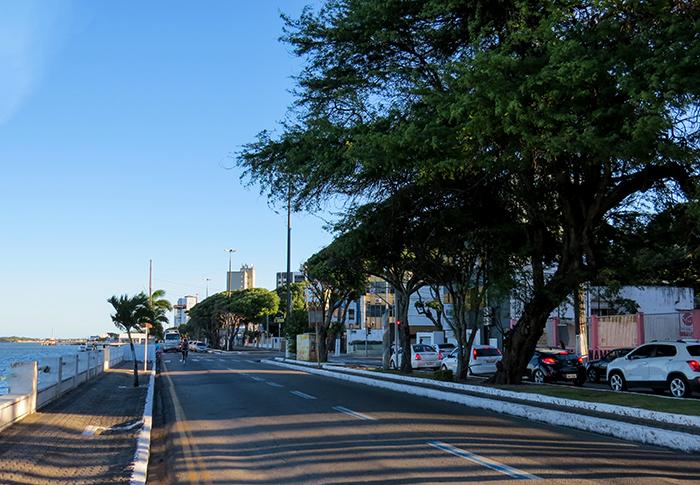 Avenida Ivo do Prado, a rua do Museu da Gente Sergipana, conhecida por Rua da Frente