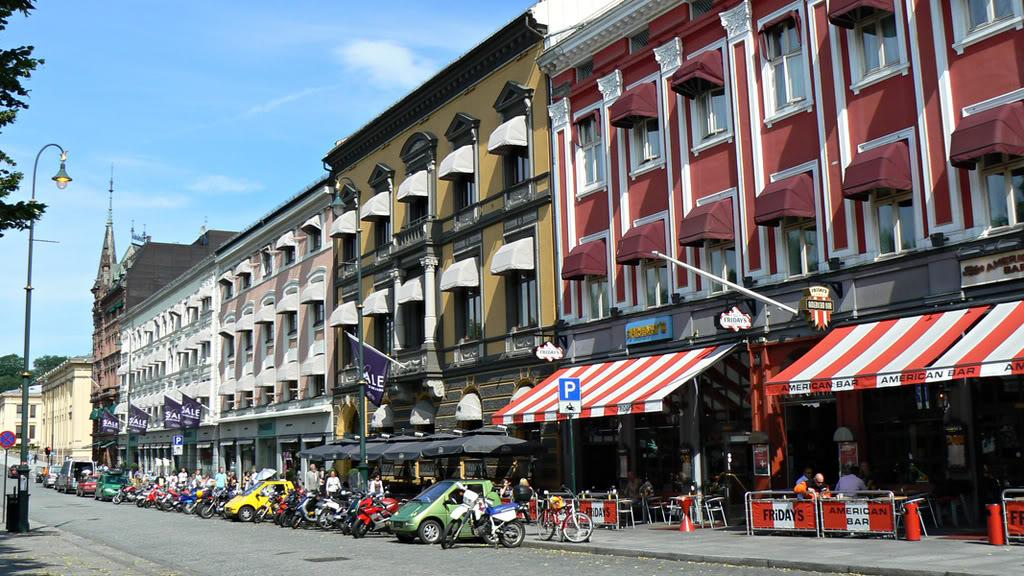 Karl Johan - a rua principal