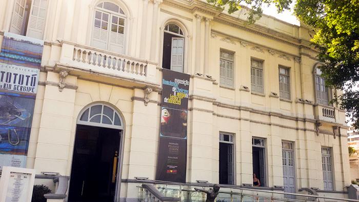 Entrada do Museu da Gente