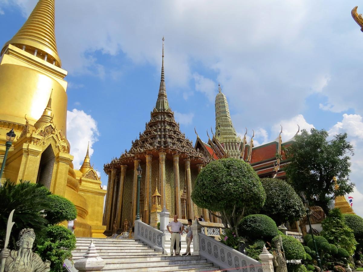 Phra Mondop, a biblioteca