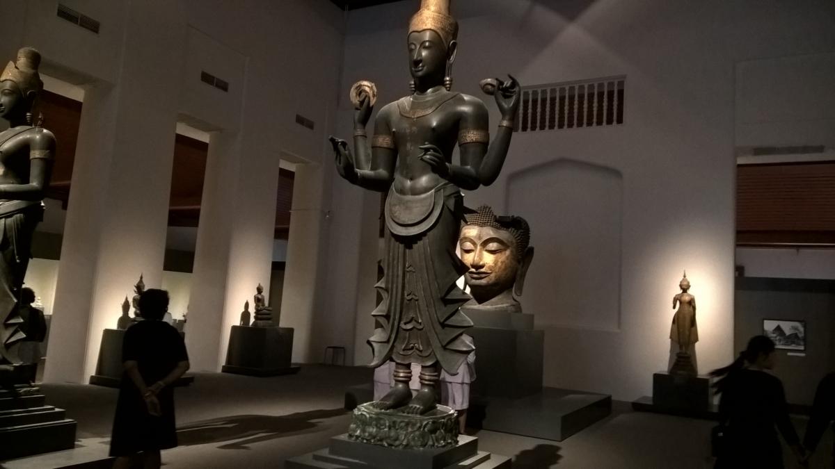 Vishnu, o deus do universo - de 700 anos atrás