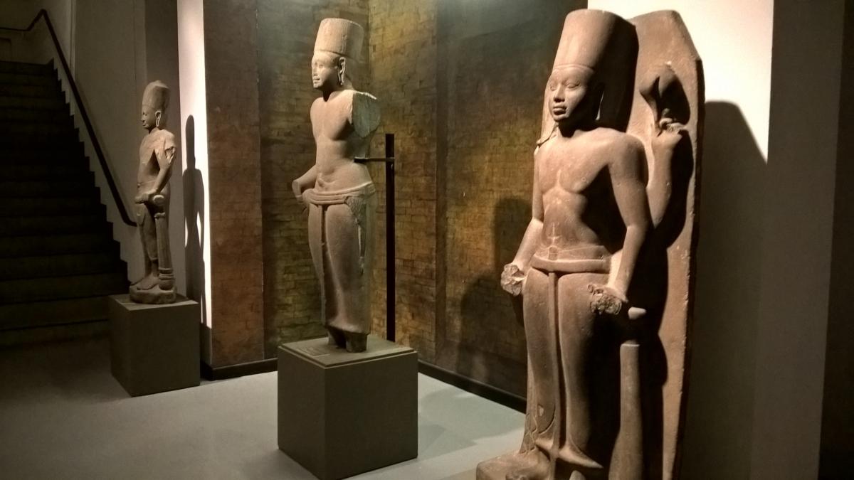 o deus Vishnu - de 1500 anos atrás