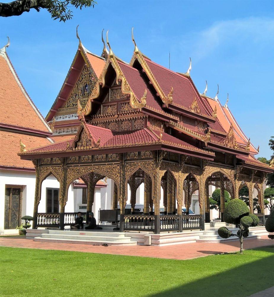 Pavilhão do Museu Nacional de Bangcoc