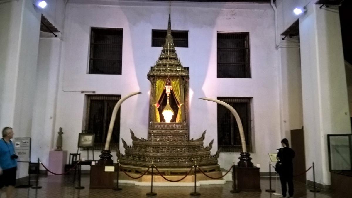 O trono de Rama I