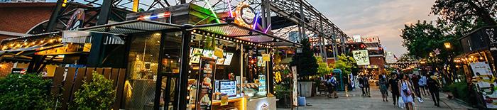 Asiatique e suas lojas
