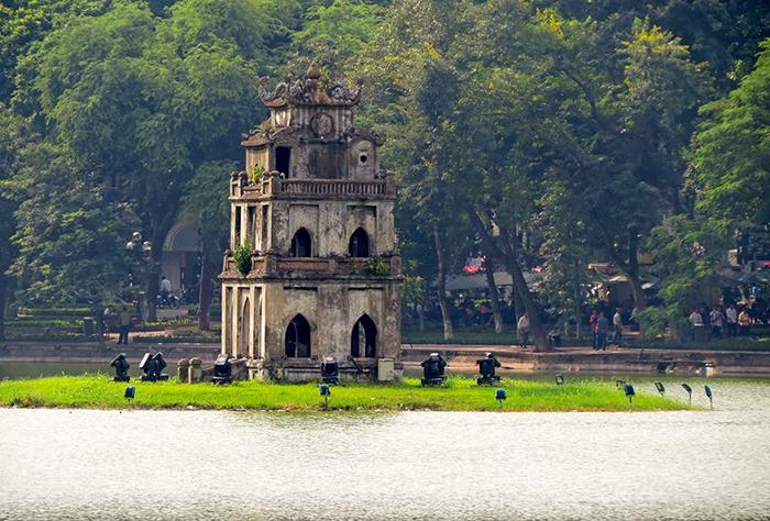lago Hoan Kiem Hanói