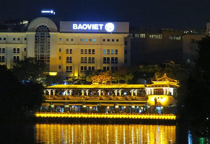 Hanói As luzes da cidade