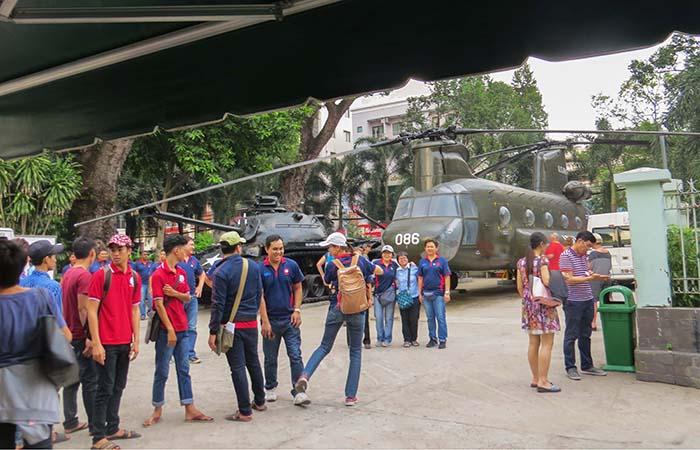 Estudantes são visitas constantes ao Museu dos Vestígios de Guerra