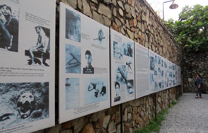 Museu-dos-Vestígios-de-Guerra-paredes-fotos