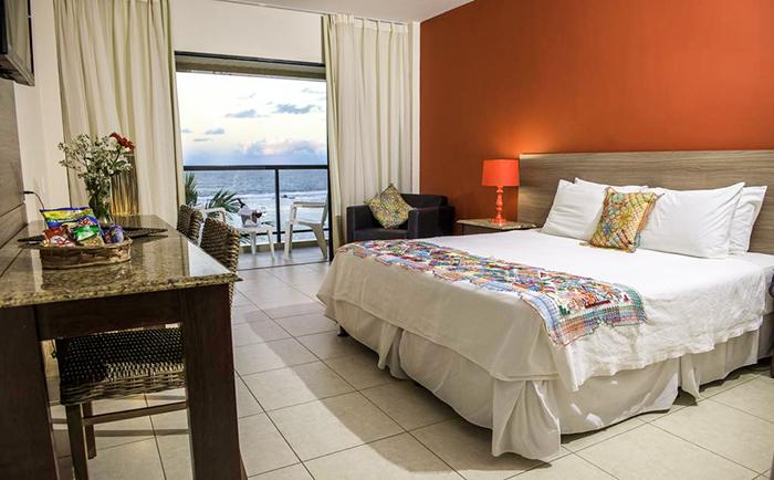 Barra_de_São_Miguel_quarto do Village Barra Hotel
