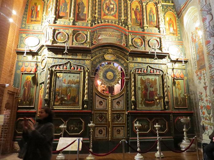 Interior da Catedral de São Basílio