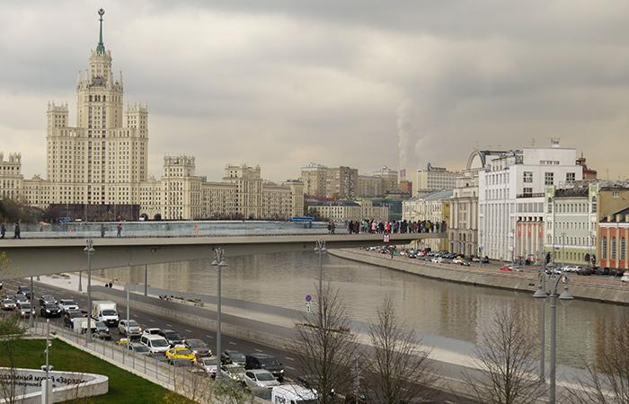 Moscou tem problemas, como por exemplo, o trânsito