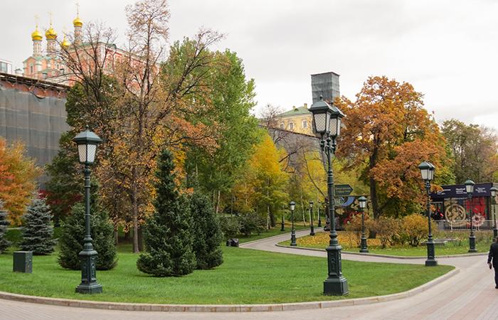 Os Jardins de Alexandre são uma das áreas verdes da cidade
