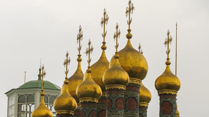 A cúpulas do Palácio Terem