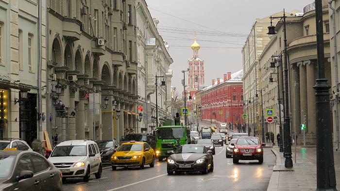 Moscou é um cenário cinematográfico, onde quer que se olhe
