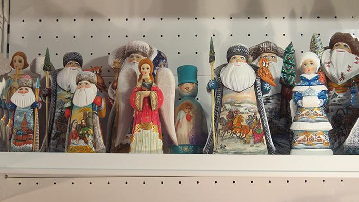 O Papai Noel, na Rússia, ainda é azul