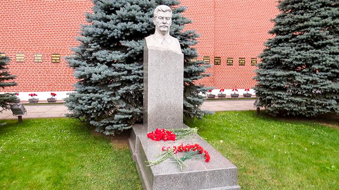 Praça Vermelha, túmulo de Stalin
