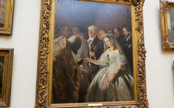 Galeria Tretyakov e o quadro O matrimônio Desigual