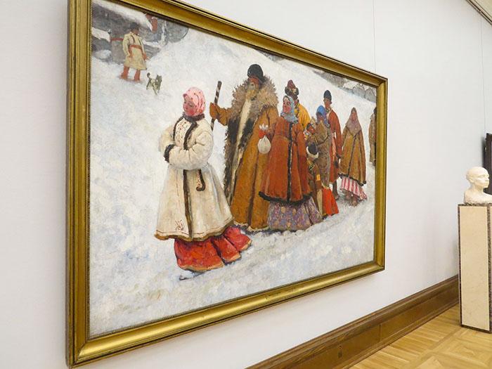 Galeria Tretyakov e A Família, de Ivanov