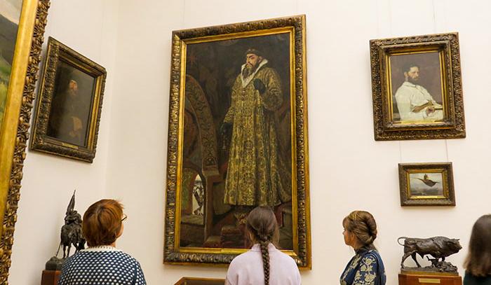 Galeria Tretyakov: Ivan, o Terrível, de Víktor Vasnetsov