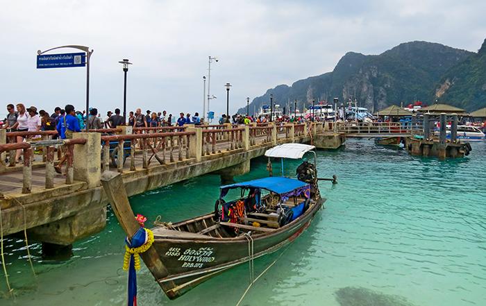 Pier principal de Ko Phi Phi