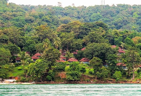 Um resort escondido em Ko Phi Phi