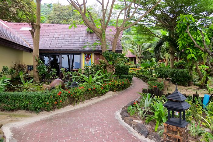 Resort escondido, em Ko Phi Phi