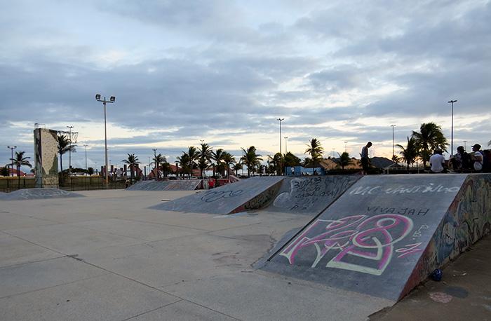 Pista de skate reconhecida como uma das melhores do país