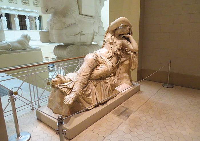 O sono de Ariadne - uma das esculturas mais famosas da antiguidade