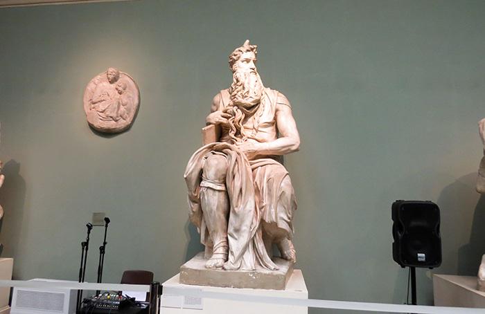 uma das principais obras do artista renascentista Michelangelo