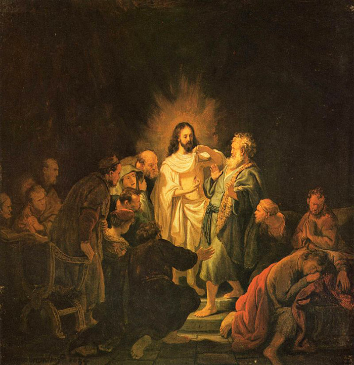 Cristo e São Tomé, de Rembrandt