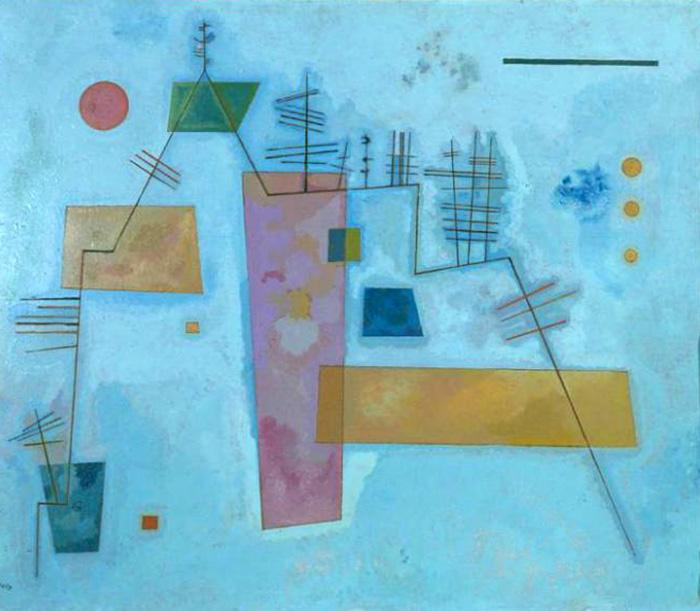 A Estrutura Angular, de Kandinsky