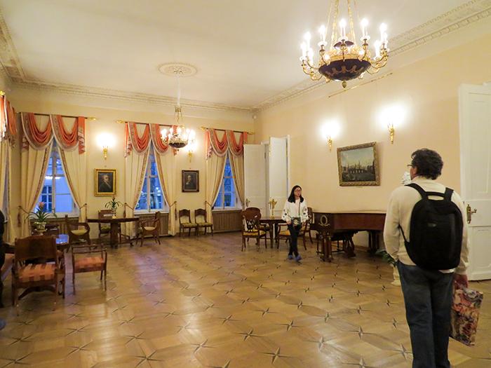 Um salão para festas