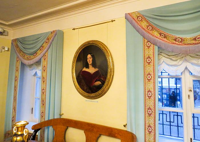 O charme do Museu-casa de Pushkin