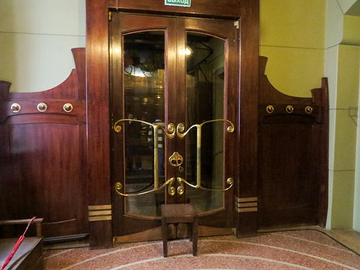 A porta da entrada principal para o museu
