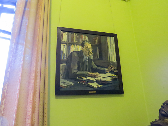 Gorki viveu nessa casa até o final da vida, em 1936